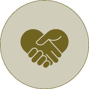 Handshake im Radius